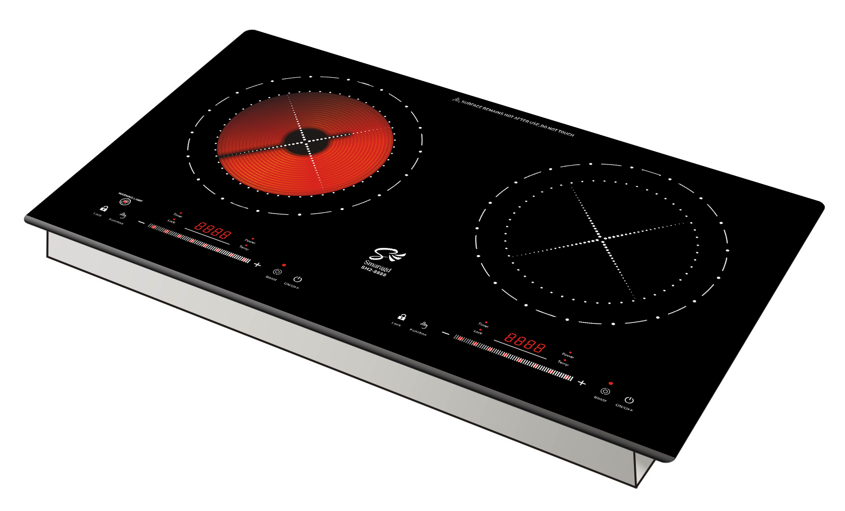 Electric cooker + from Smaragd SH2-8888